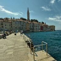 Rovinj, Chorwacja; stare miasto - spacer wirtualny