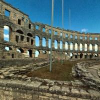 Pula, Chorwacja; Stare Miasto - spacer wirtualny