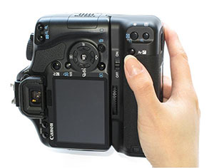 canon 450d battery grip