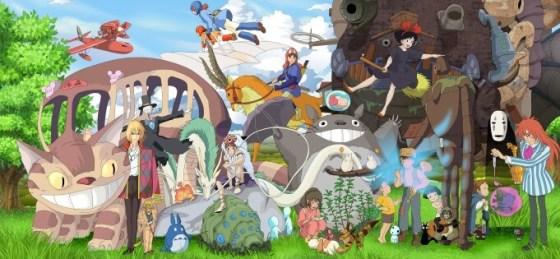 Personajes del Studio Ghibli