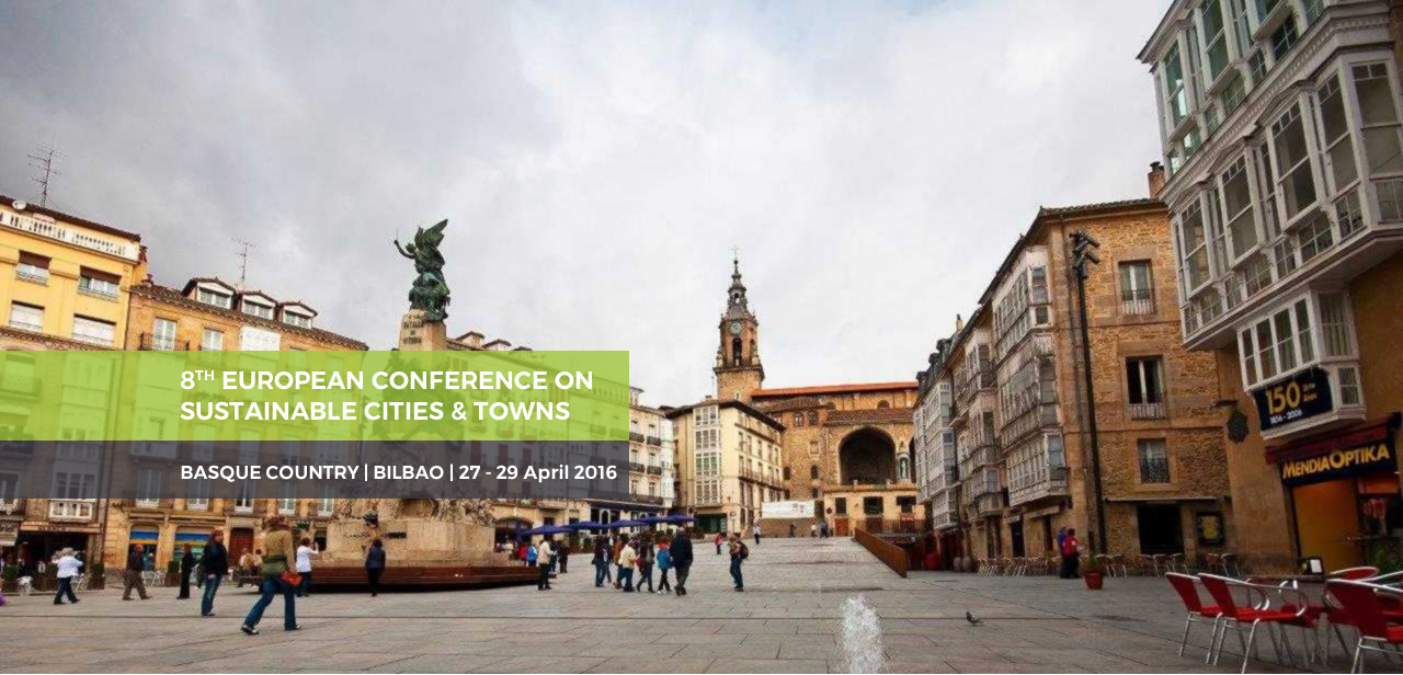 8th European Conference on Sustainable Cities & Towns