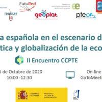 Save the Date II Encuentro CCPTE 15 OCTUBRE 2020