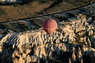 Lot balonem nad Doliną Göreme
