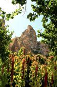 Pod twierdzą Üçhisar, wizyta w zamieszkałym domu z skale w zamieszkałym domu z skale