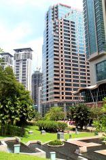 Ogrody pod Petronas Twins Towers