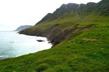 Zachodnia część Półwyspu Siglufjörður