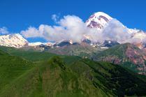 widok na Kazbek