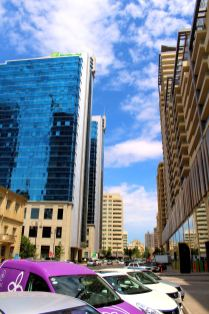 Baku - wschodnia część miasta