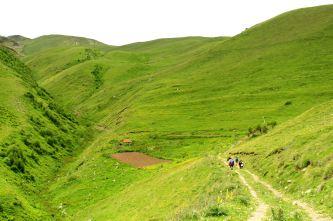 szlak do Przełęczy Arsha