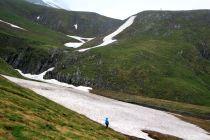 szlak na Przełęcz Chaukhi