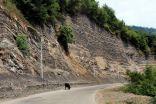 krajobrazy między Lerik, a Lenkoranem
