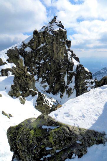 Okolica szczytu Łomnica