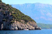 wybrzeże między Budvą, a Barem