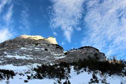 szlak do Wyżniej Kondrackiej Przełęczy