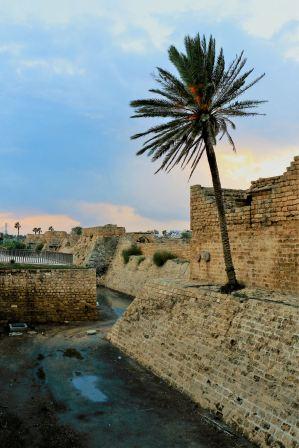 Cezarea - mury miasta