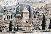 Okolica Złotej Bramy - widok na Miasto Dawida