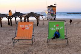 Tel Awiw - wybrzeże