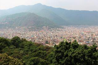 Widok na Dolinę Kathmandu
