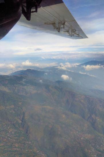 przelot Lukla - Katmandu