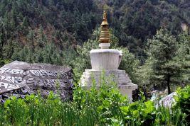 granica Parku Narodowego - Phakding