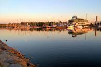Port i plaże w Pirycie