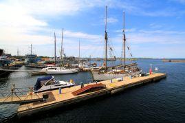 port przy muzeum