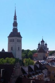 Widok z Wieży Ratuszowej