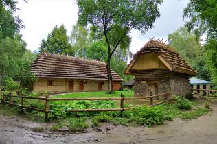 Dom z Verbovets, Kosiv District, Iwano-Frankiwszczyzna, koniec XIX wieku