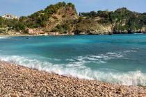 Plaża w Taorminie