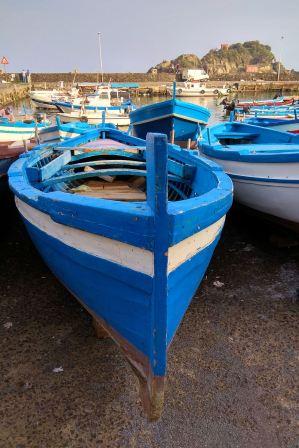 Przystań rybacka w Aci Trezza