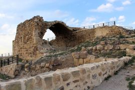 Centralna część zamku Al-Karak