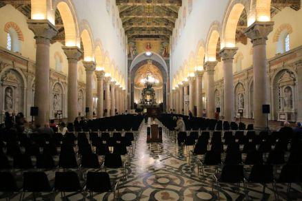 Wnętrza Katedry w Mesynie