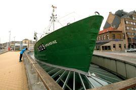 Ostenda - Muzeum na statku