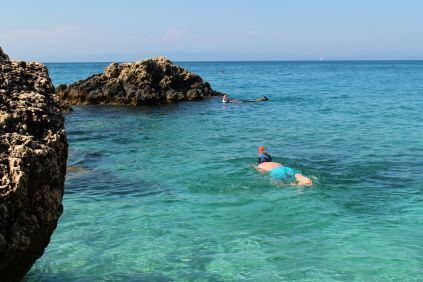 Plaże zachodnie - Agios Nikitas Beach