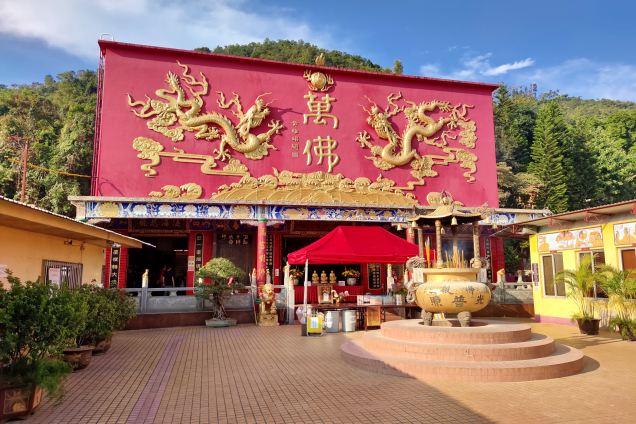 Świątynia Fat Tsza - TEN THOUSAND BUDDHAS MONASTERY