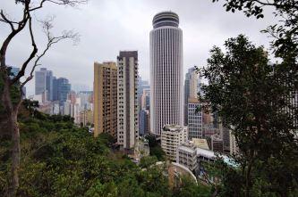 Wan Chai - widoki z Ulicy Bowen