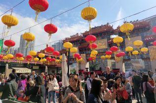 Wong Tai Sin Temple - Ołtarz Główny