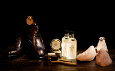 Schuhpflege - Lightpainted mit LED-Lampe