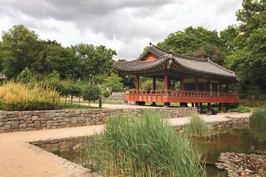 Die Loci - der koreanische Garten in Frankfurt