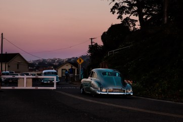 San Francisco / Crissie Field am Abend