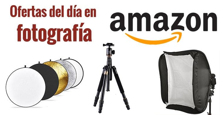 Ofertas fotográficas del día en Amazon.