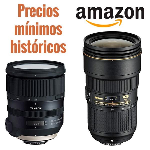 Precio mínimo histórico por 24-70mm Nikon.