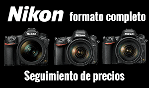 Nikon full frame seguimiento de precios