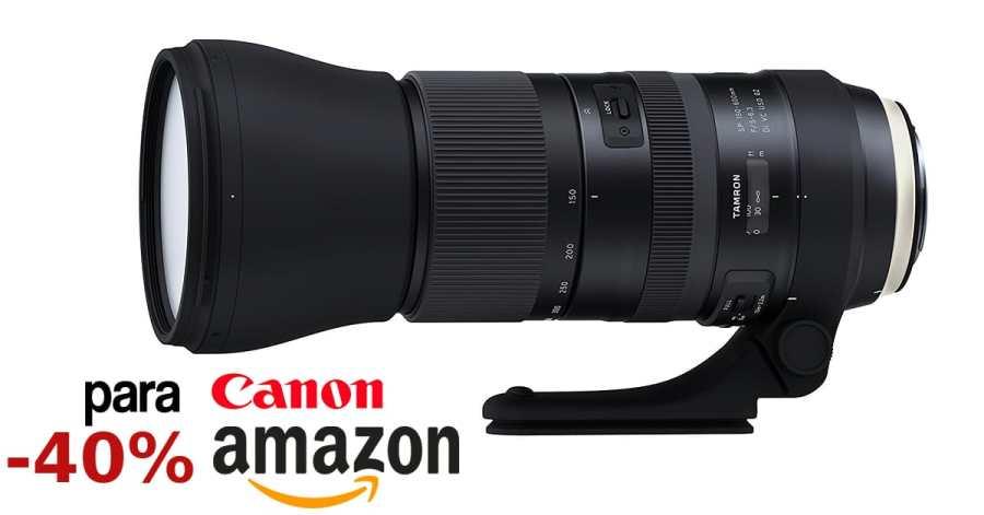 Precio mínimo histórico Tamron 150-600mm para Canon.