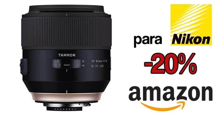 Tamron 85mm f/1.8 Nikon oferta