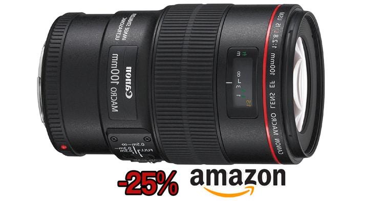 Precio mínimo Canon 100 / 2,8L Macro IS USM