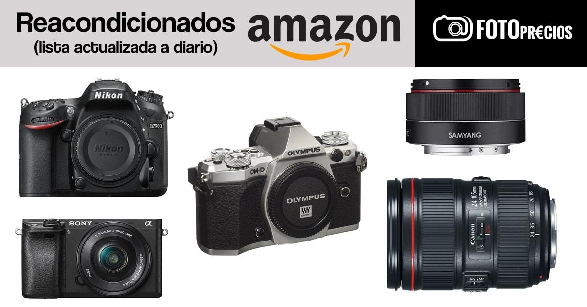 Lista diaria de FotoPrecios reacondicionados.