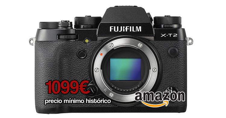Precio mínimo Fuji X-T2.