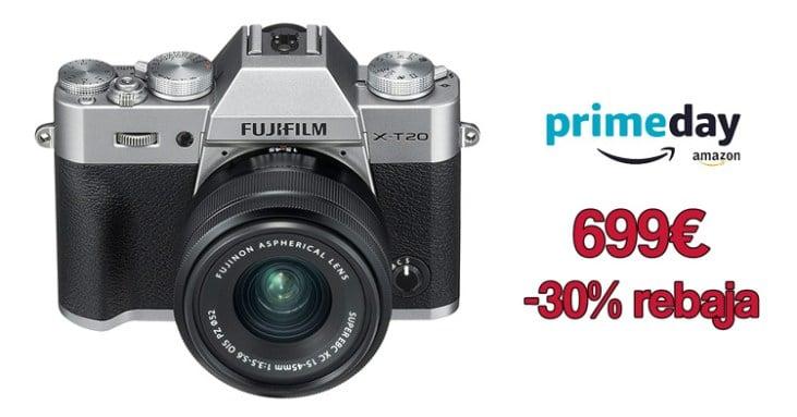 Oferta minimo histórico Fuji X-T20 + XC 15-45mm.