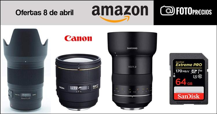 Foto-precios mínimos en Amazon del 8 de abril.